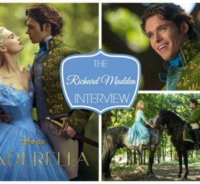 Richard Madden INterview cinderella movie