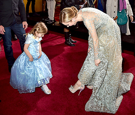 Lily James Cinderella Premiere
