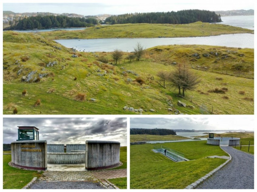 Avaldsnes Haugesund, Viking sites, Norway