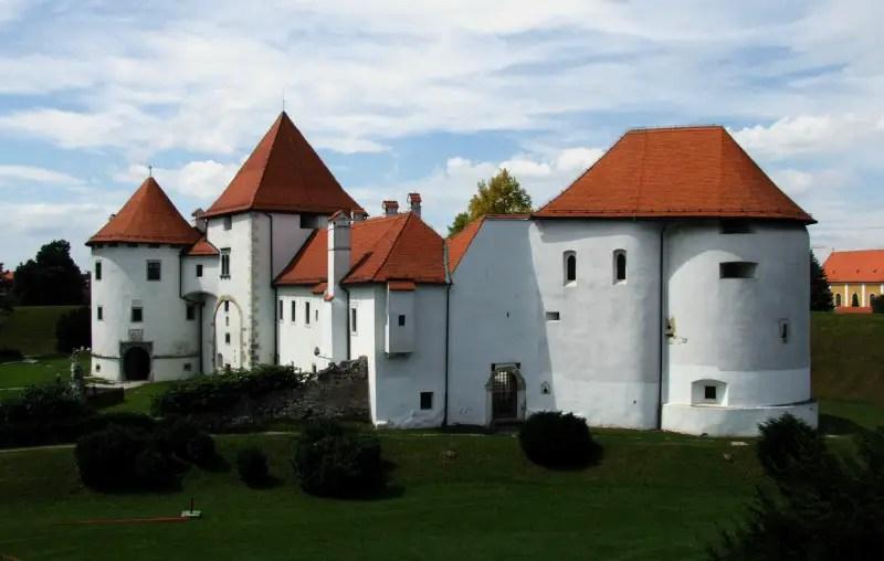 Castles in Croatia Varazdin Stari