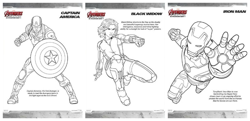 Free Nick Fury From Avengers Coloring Pages: Avengers Age Of Ultron Coloring Sheets