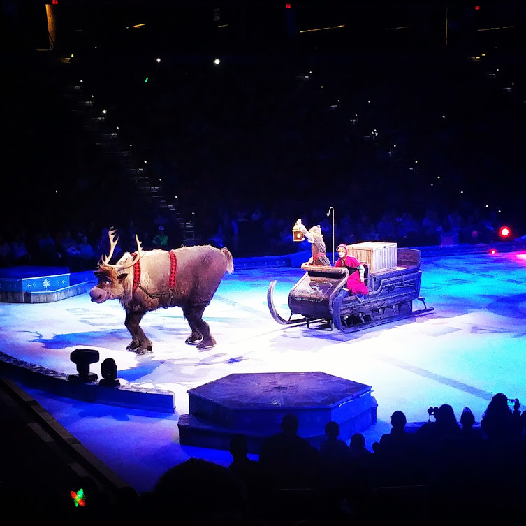 Kristoff and Sven Frozen on Ice