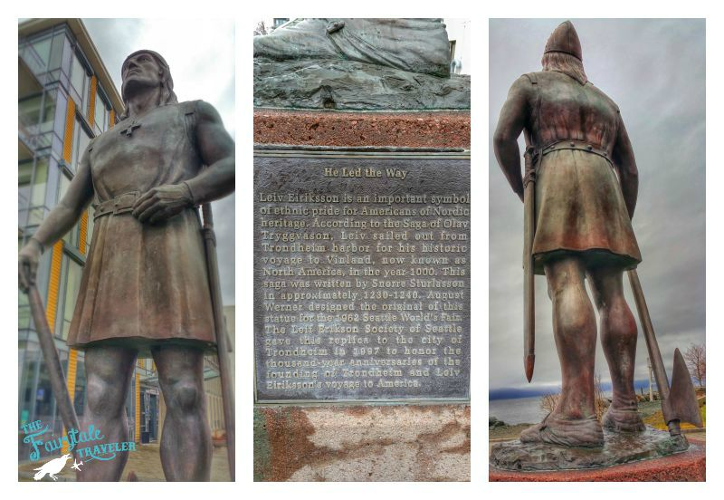 Leiv Eiriksson Statue Trondheim