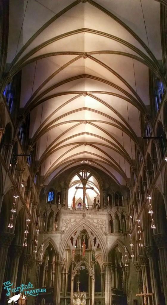 Inside of Nidaros Cathedral