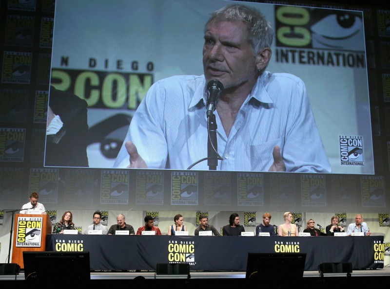 Star Wars the Force Awakens SDCC panel