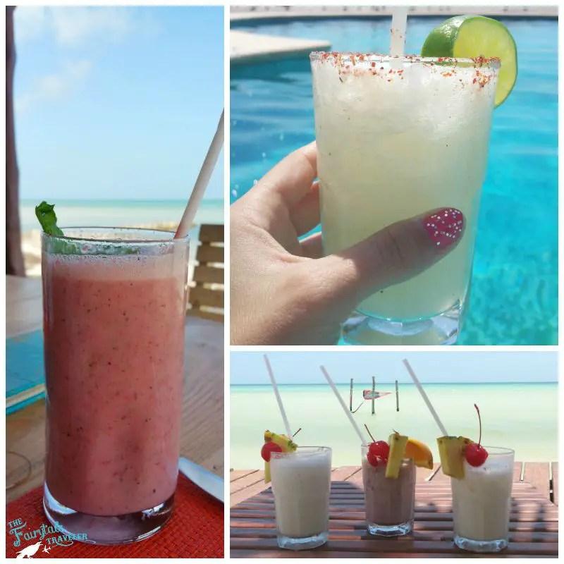 tropical drink Villas Flamingos Holbox