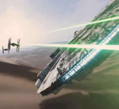 Star Wars the Force Awakens Comic Con Reel