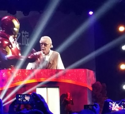 Stan Lee and Iron Man
