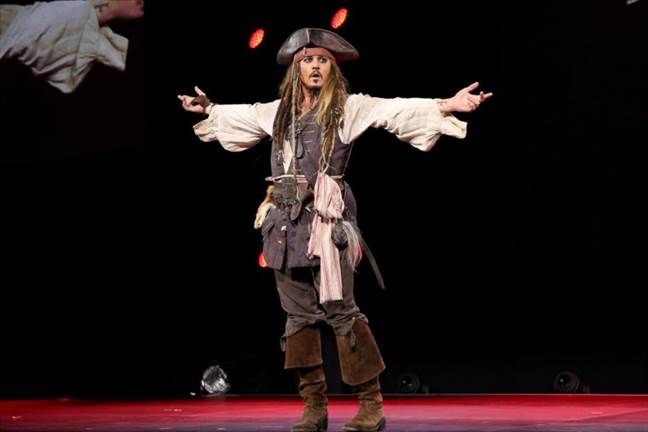 Johnny Depp D23 EXPO