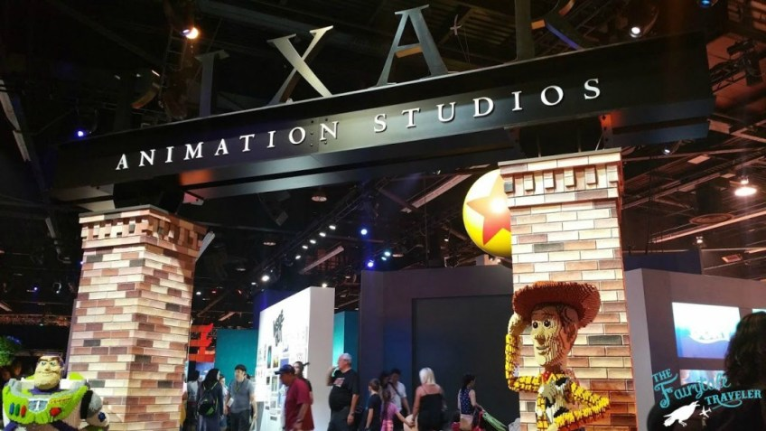 Disney Pixar at D23 EXPO