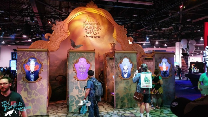 Alice in Wonderland Through the Looking Glass photo booth