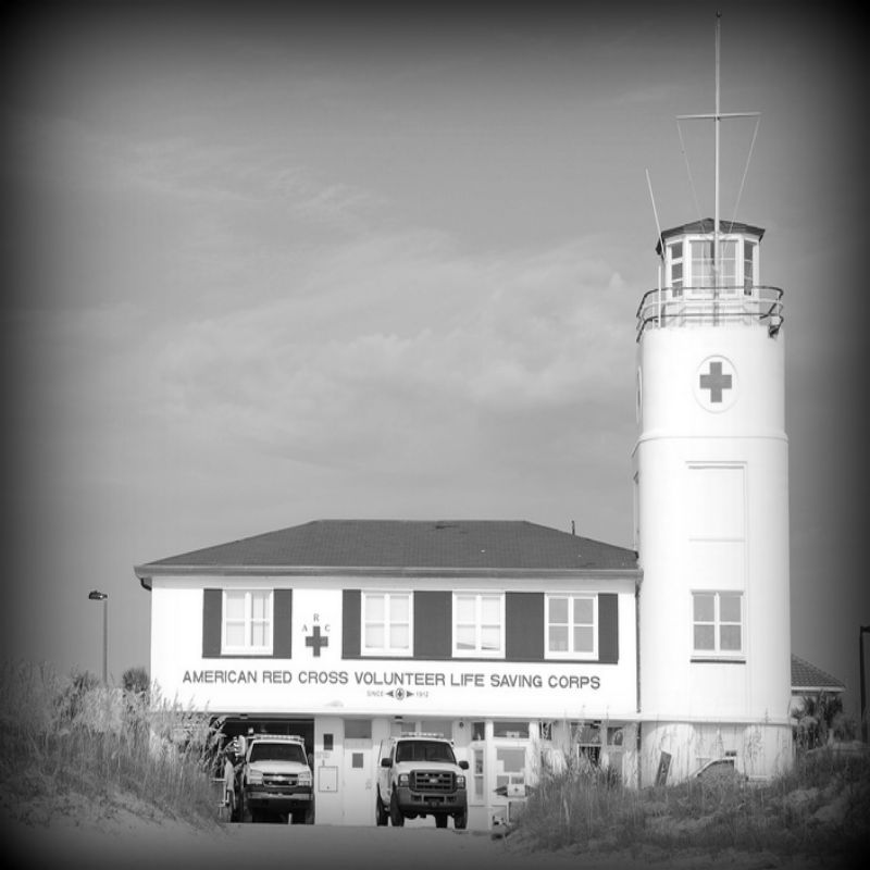Haunted Places in Florida LIfeguard tower Jacksonville