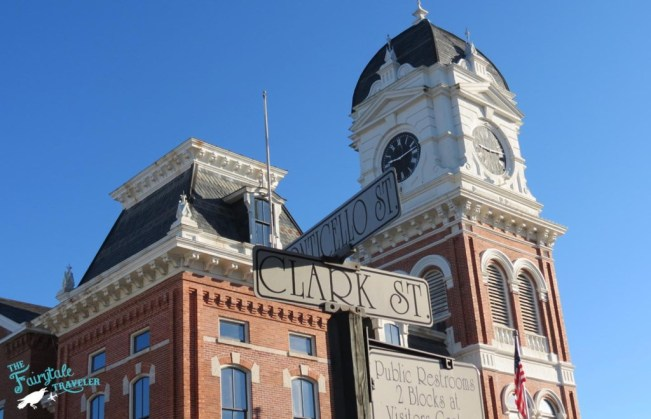 Mystic Falls Courthouse in Covington
