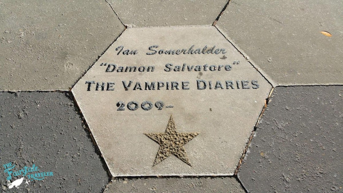 Ian Somerhalder Star in Mystic Falls Covington