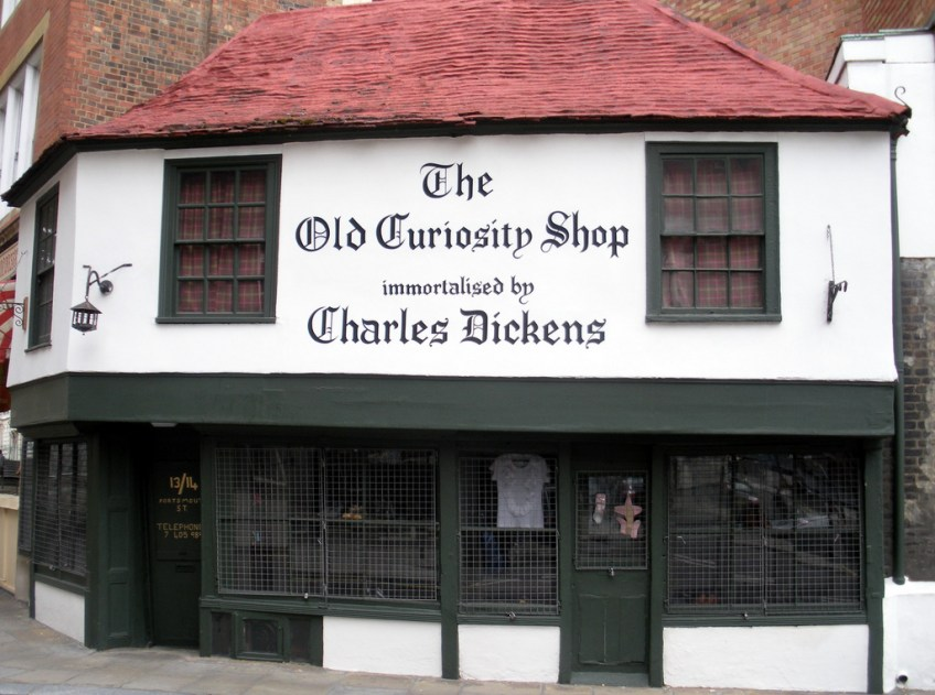 The Old Curiosity Shop, Charles Dickens,