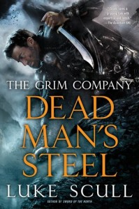 Dead Man's Steel by Luke Scull, sci-fi, fantasy novel, book release in 2016, 2016 sci-fi and fantasy book releases