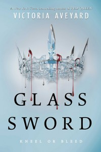 Glass Sword by Victoria Aveyard, released 2016, Fantasy, Sci Fi Novel, 2016 sci-fi and fantasy book releases