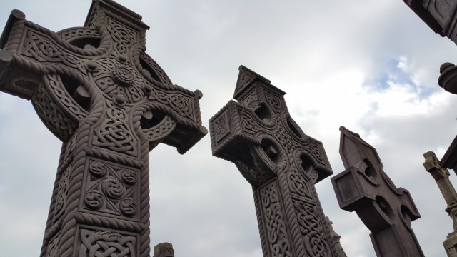 High Cross, Tombstones, Glasnevin Cemetery