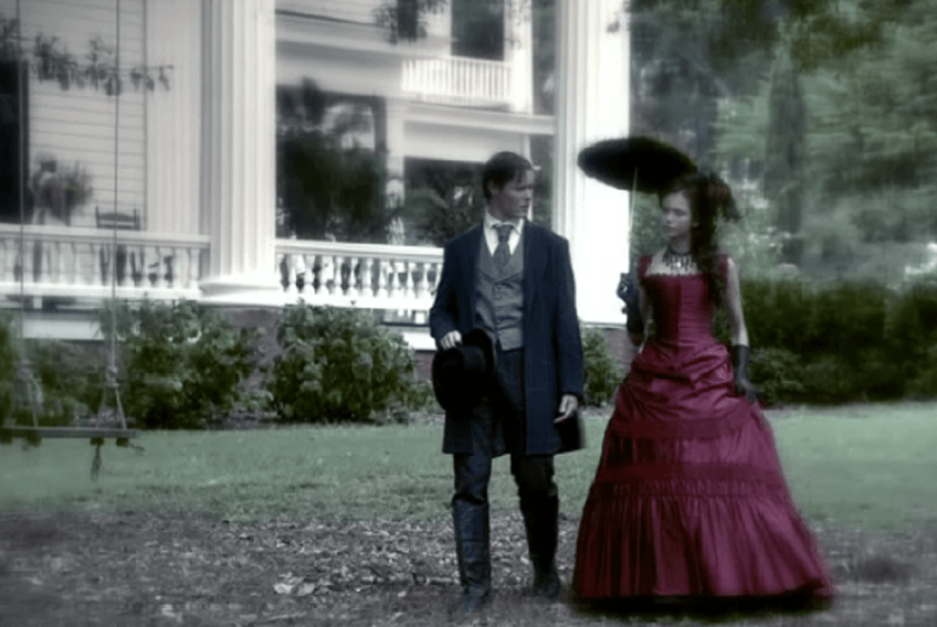 The Vampire Diaries, Damon and Katherine, Flashback
