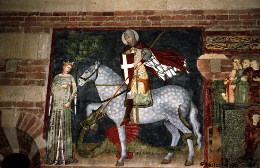 St George and the Princess, Verona, Romeo and Juliet in Verona