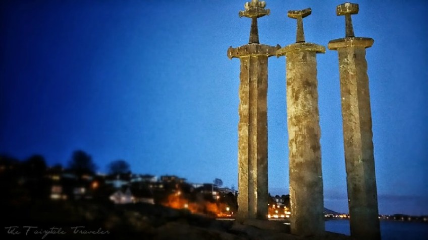 Viking Sites, Three Swords Monument, Stavanger, Norway, Viking Monument