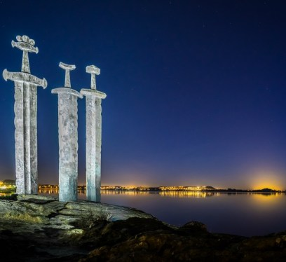Three Swords, Norway, Vikings, Stavanger, Vikings in Norway, Vikings TV show