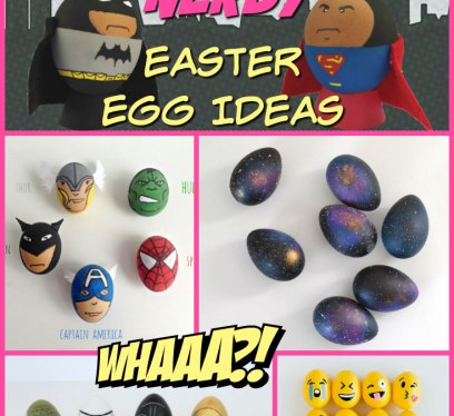 Nerdy Easter Eggs, Ideas, Star Wars Easter Eggs, AHrry potter Easter Eggs, Emoji Easter Eggs, POkemon Easter Eggs, Adventure Time Easter Eggs, MArvel Easter Eggs, BAtman Easter Eggs, Superman Easter Eggs, Dr Who Easter Eggs