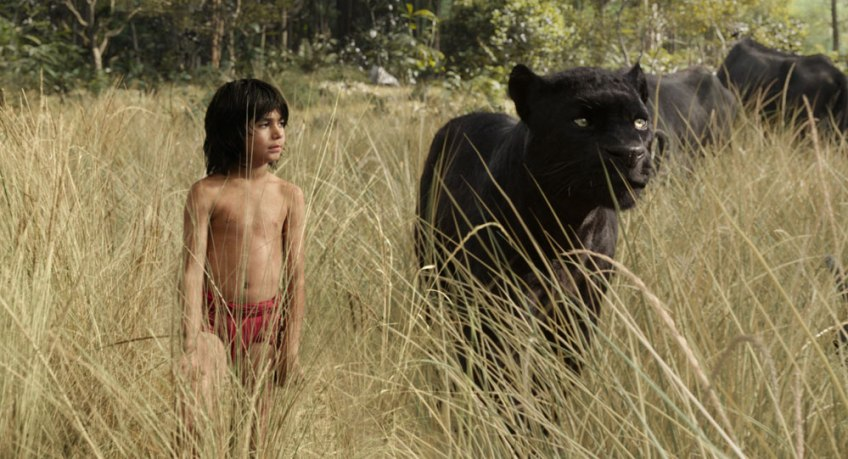 The Jungle Book, Mowgli and Bagheera