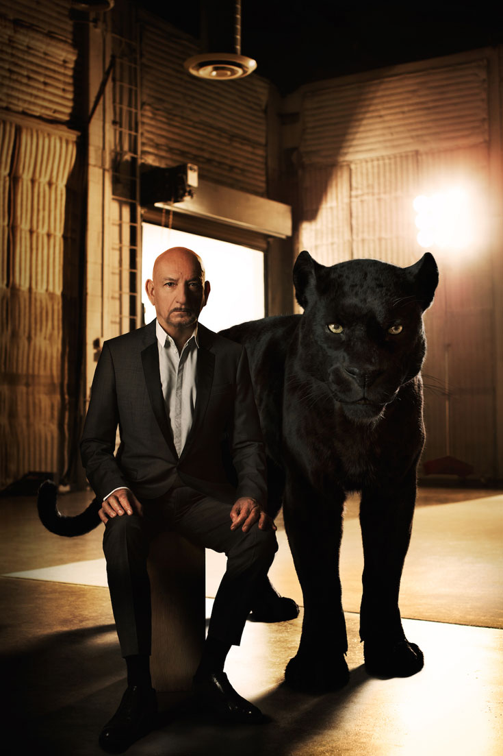 The Jungle Book, Sir Ben Kingsley, Bagheera