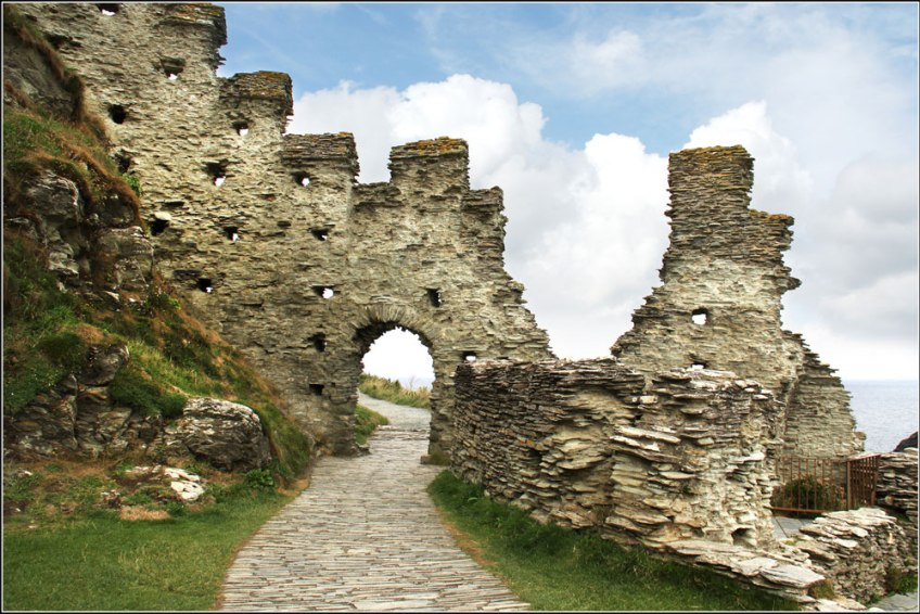 King Arthur Tintagel Castle Cornwall