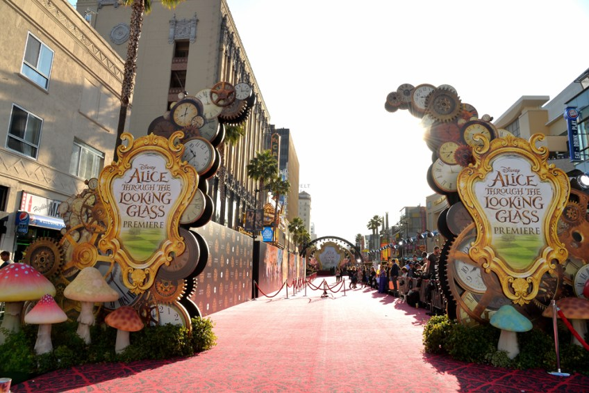 Alice Through the Looking Glass red carpet premiere LA - Getty Images -Disney