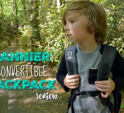 Pannier Convertible Backpack,boy hiking, the little fairytale traveler, gauge kidfriendly, Gauge Rybak, Pannier Backpack, Anna Ruby Falls, Georgia, Things to do near Helen Georgia, Georgia waterfalls,