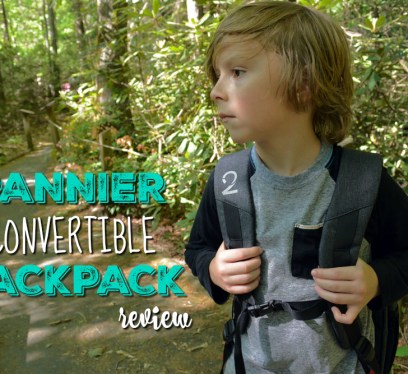 Pannier Convertible Backpack,boy hiking, the little fairytale traveler, gauge kidfriendly, Gauge Rybak, Pannier Backpack, Anna Ruby Falls, Georgia, Things to do near Helen Georgia, Georgia waterfalls,