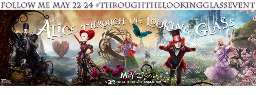 Alice Through the Looking glass, poster, Christa thompson, red carpet,