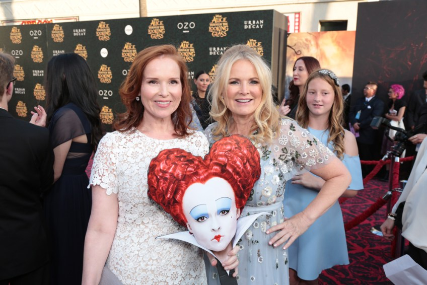 Alice Through the Looking Glass red carpet premiere LA, Jennifer Todd, Suzanne Todd, interview
