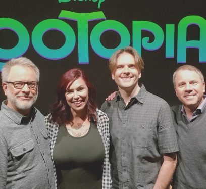 Rich Moore, Christa Thompson, Bryon Howard, Clark Spencer, Zootopia