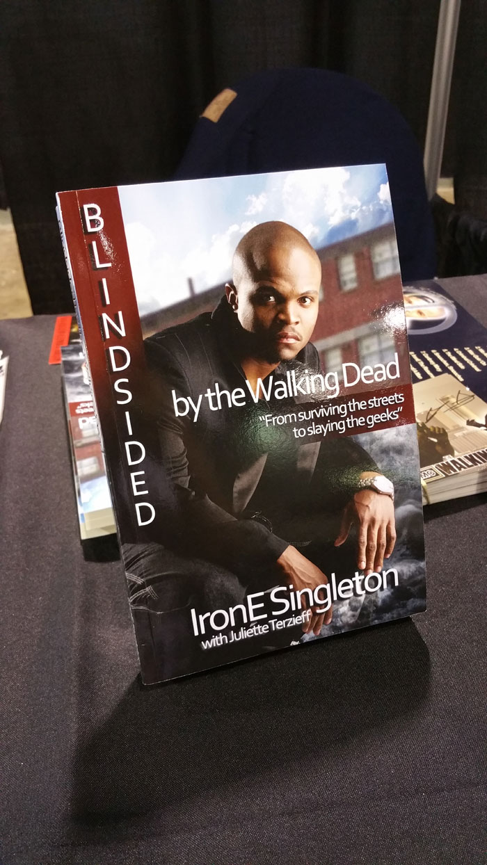 IronE Singleton, Blindsided, Book