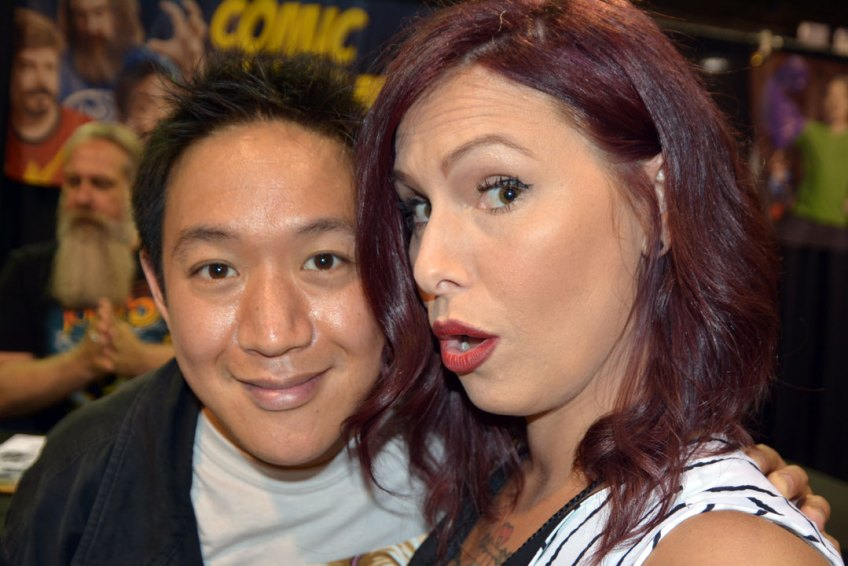 Ming Chen, Comic Book Men, Christa Thompson, The fairytale Traveler, Walker Stalker, Chicago