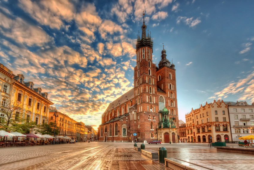 romantic, krakow, St. Mary's Basilica