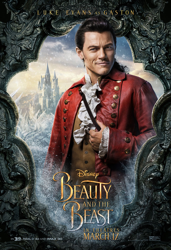 Beauty and the Beast Gaston Poster, Gaston