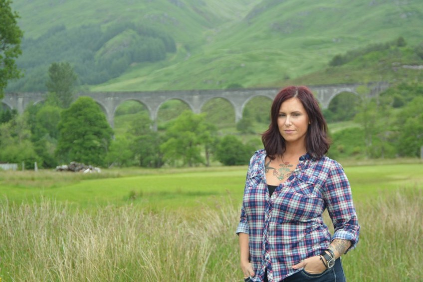 Christa Thompson, Glenfinnan Viaduct, Scotland