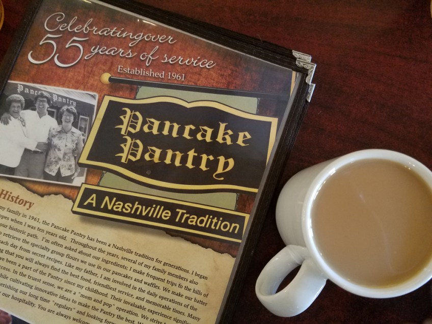 Things to do in Nashville, pancake pantry