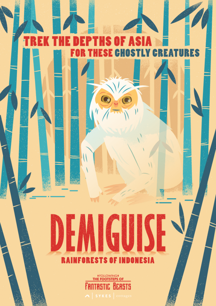 fantastic beasts, demiguise