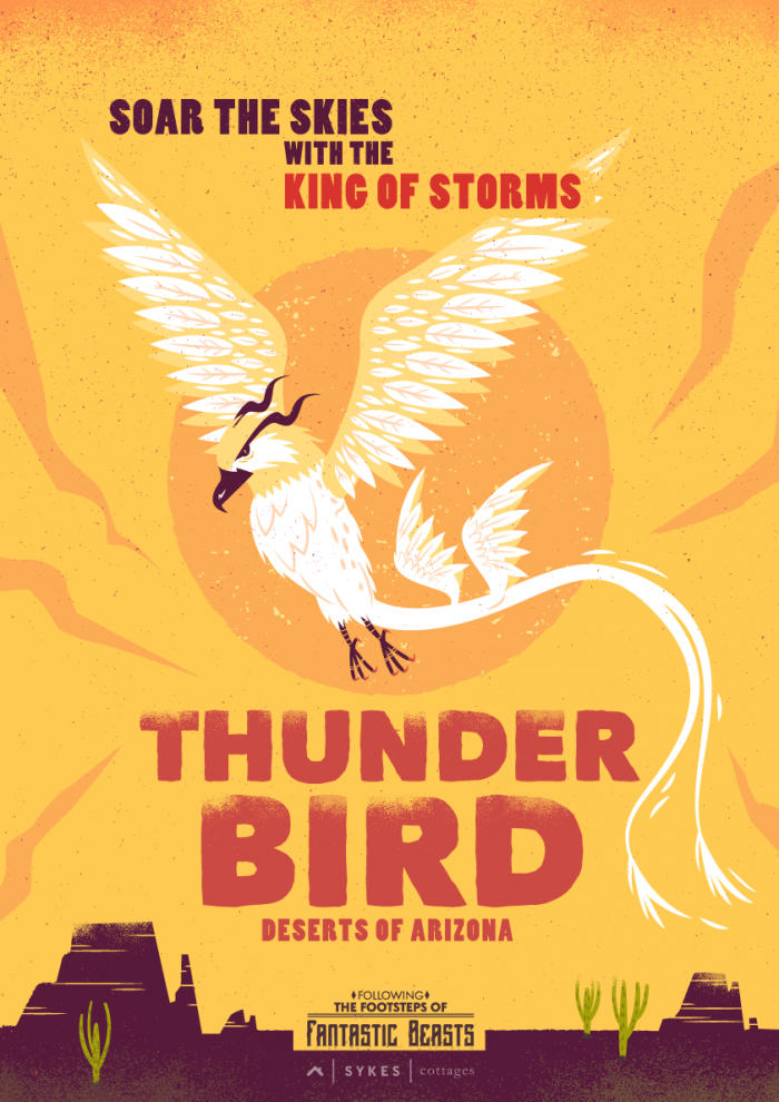 fantastic beasts, thunder bird