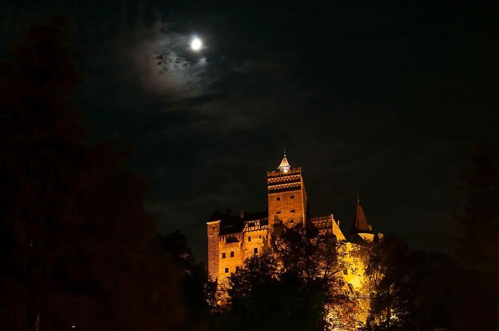 world famous landmarks, bran castle