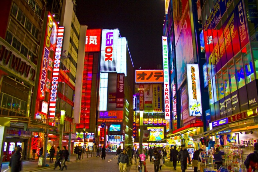 Geeky Things to do in Tokyo, Electric town, Akihabara, amazing real life locations