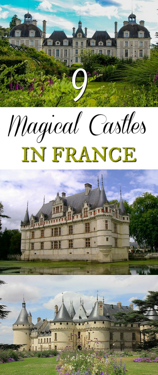Magical castles in france
