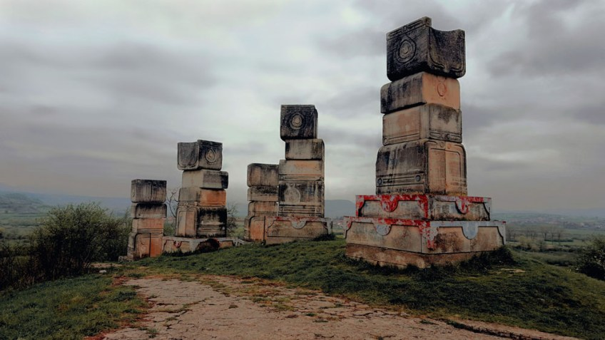 Bihac, Spomeniks of Yugoslavia