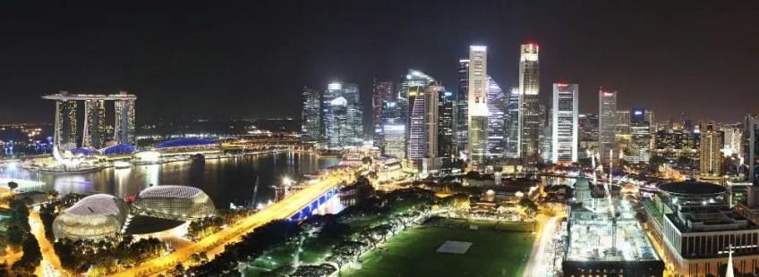 Singapore futuristic cities