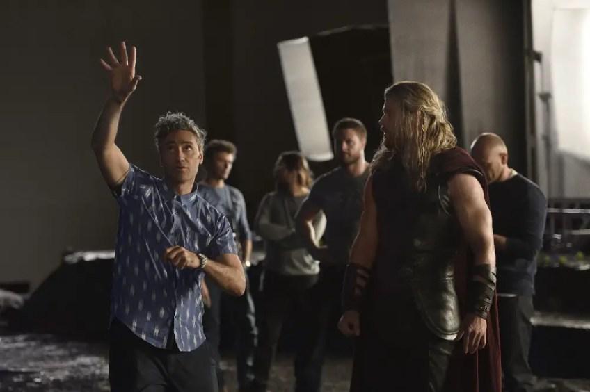 Thor: Ragnarok behind the scenes images